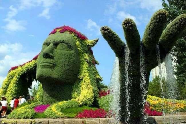 Arte topiaria e il giardino prende vita - Arte e giardino ...